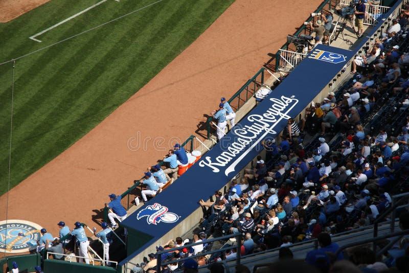 Het Stadion van Kauffman - de Stad Royals van Kansas stock afbeeldingen