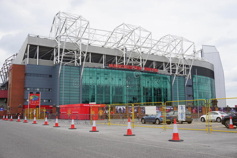 Het Stadion van Manchester United Oude Trafford stock foto's