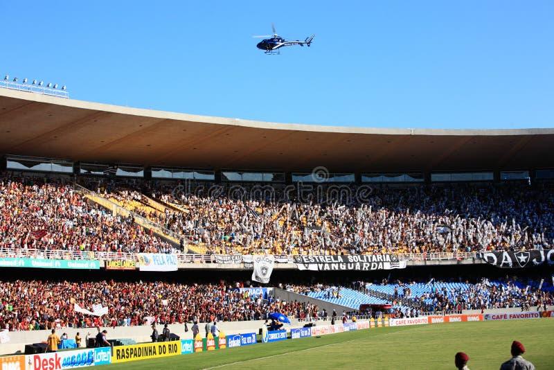 Het stadion van Maracana stock afbeelding
