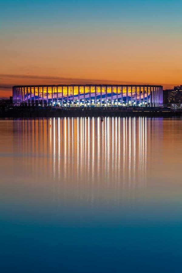 Het Stadion van Nizhnynovgorod stock afbeeldingen