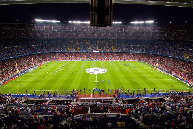 Het Stadion van Nou van het kamp, Barcelona royalty-vrije stock foto's