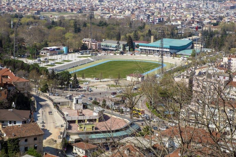 Het Stadion van slijmbeurs Ataturk royalty-vrije stock foto's
