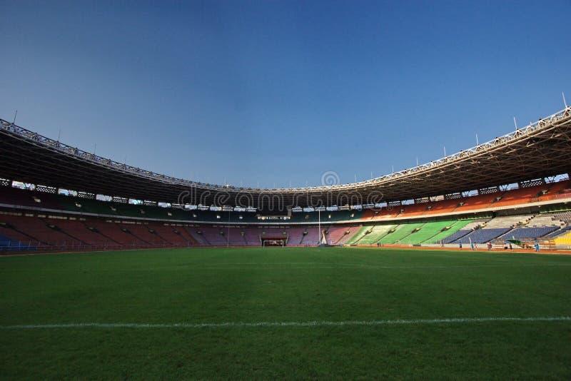 Het stadion van sporten stock foto