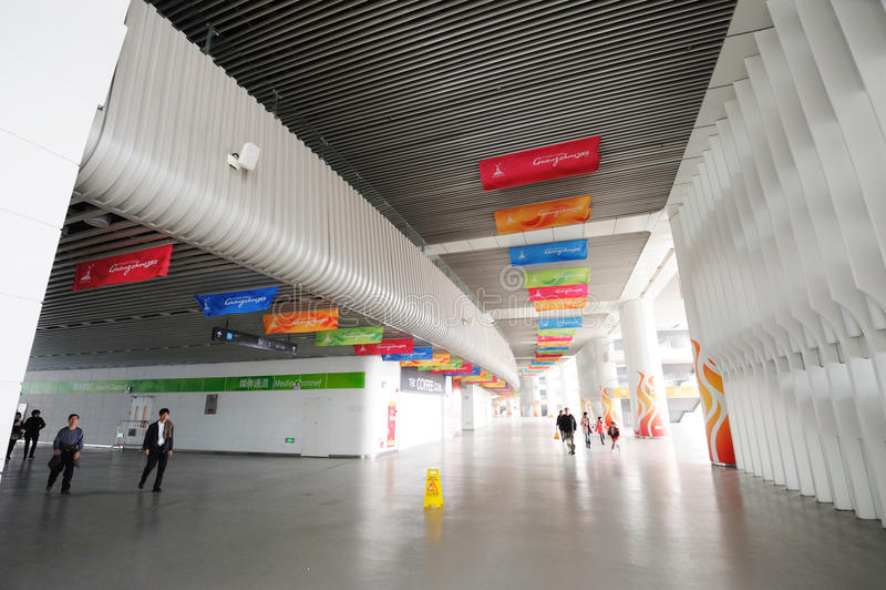 Het stadionbinnenland van Haixinsha royalty-vrije stock fotografie
