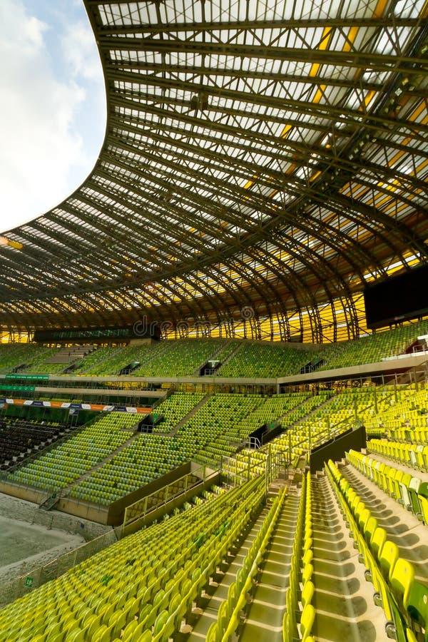 Het Stadionmening Van De Arena PGE Redactionele Foto