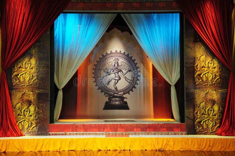 Download Het stadium van de dans stock illustratie. Illustratie bestaande uit shiva - 29513154