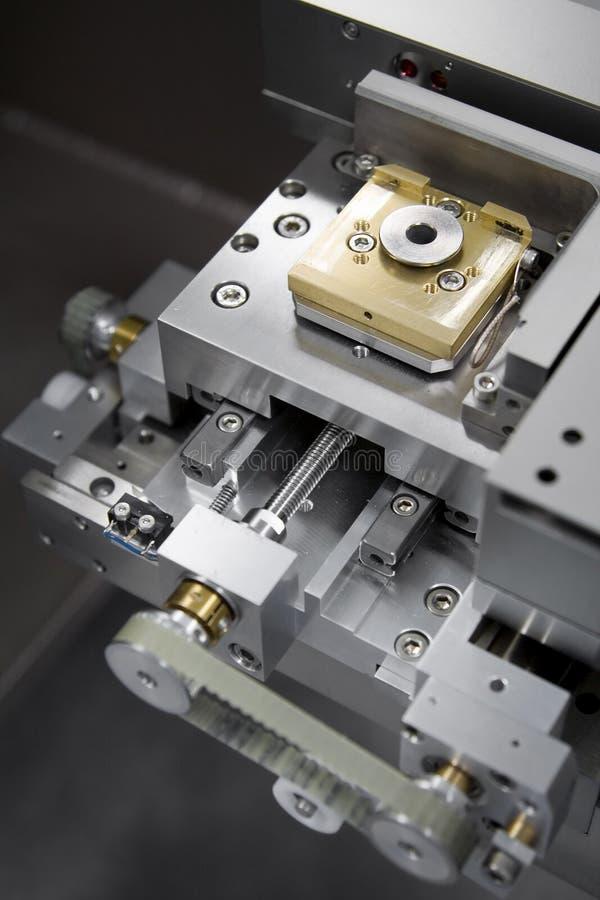 Het stadium van de laser stock afbeelding