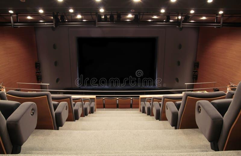 Het stadium van het auditorium stock foto