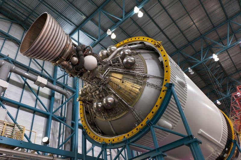 Het stadiummotor van Apollo royalty-vrije stock afbeeldingen