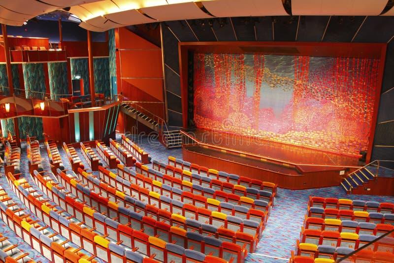 Het stadiumtheater van het drama royalty-vrije stock foto's