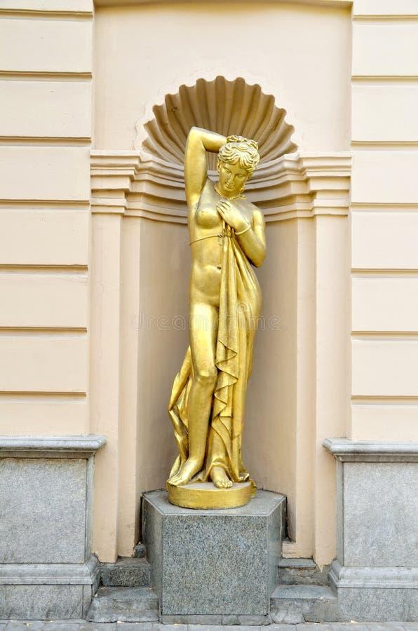 Het standbeeld stock foto
