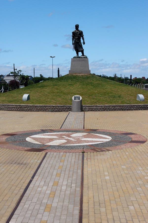 Het standbeeld Lacador stock afbeeldingen