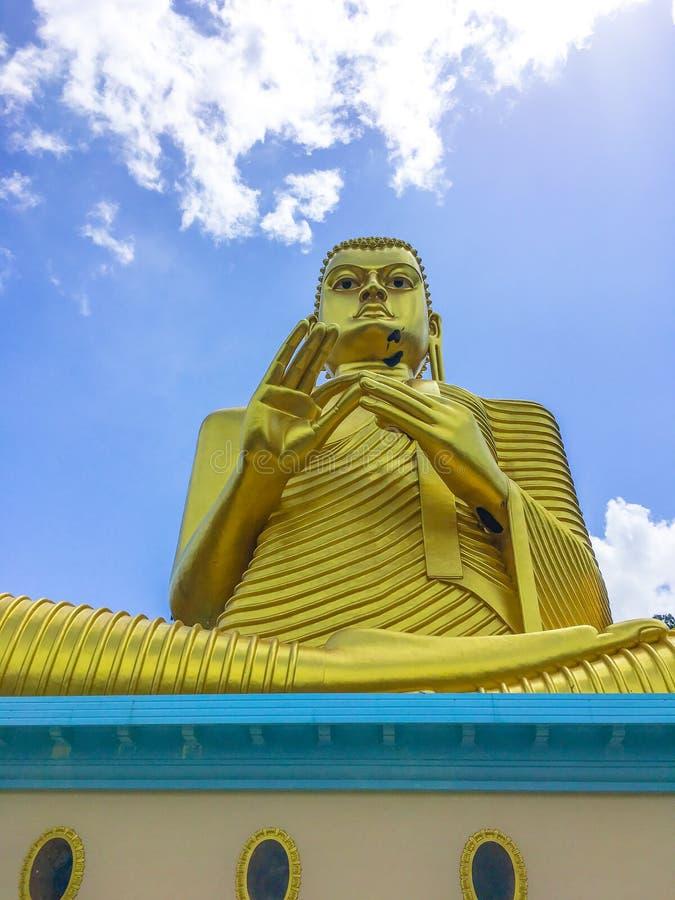 Het Standbeeld Sculpure, Sri Lanka van Boedha stock afbeeldingen