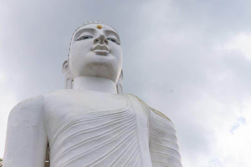 Het Standbeeld Sculpure, Sri Lanka van Boedha stock foto