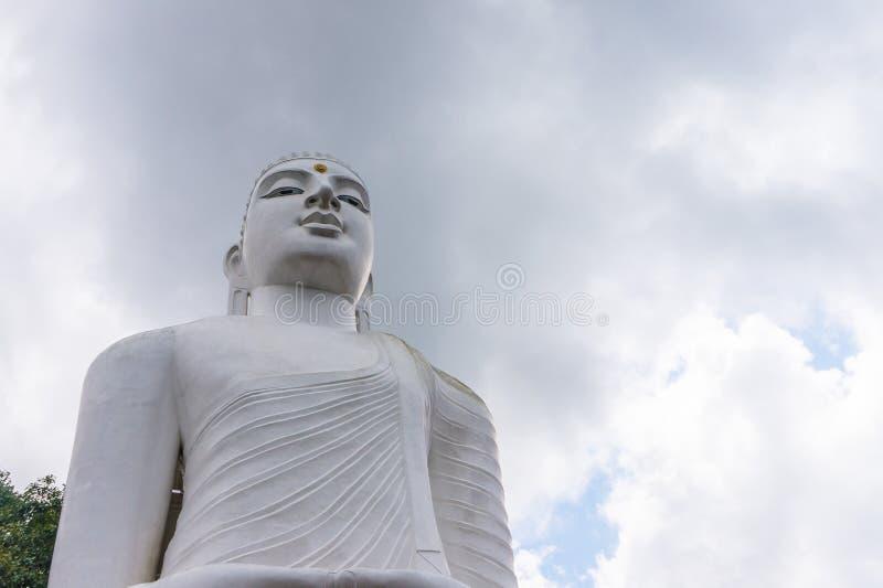 Het Standbeeld Sculpure, Sri Lanka van Boedha stock foto's