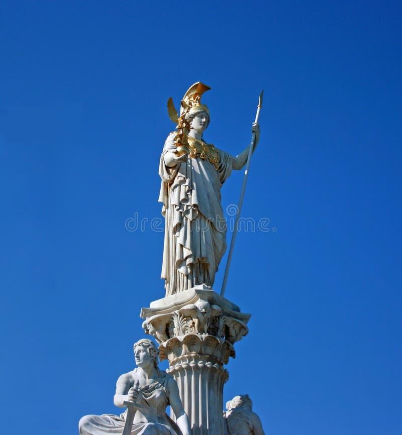 Het standbeeld van Athena royalty-vrije stock foto