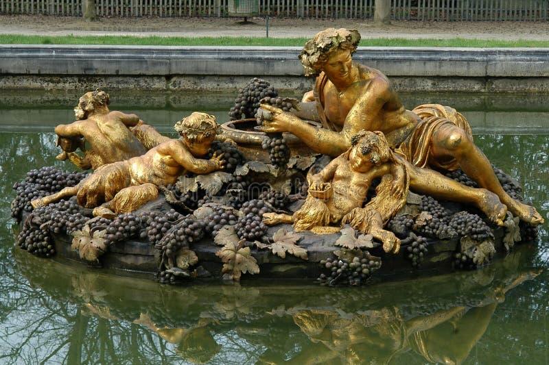 Het standbeeld van Bacchus stock afbeeldingen