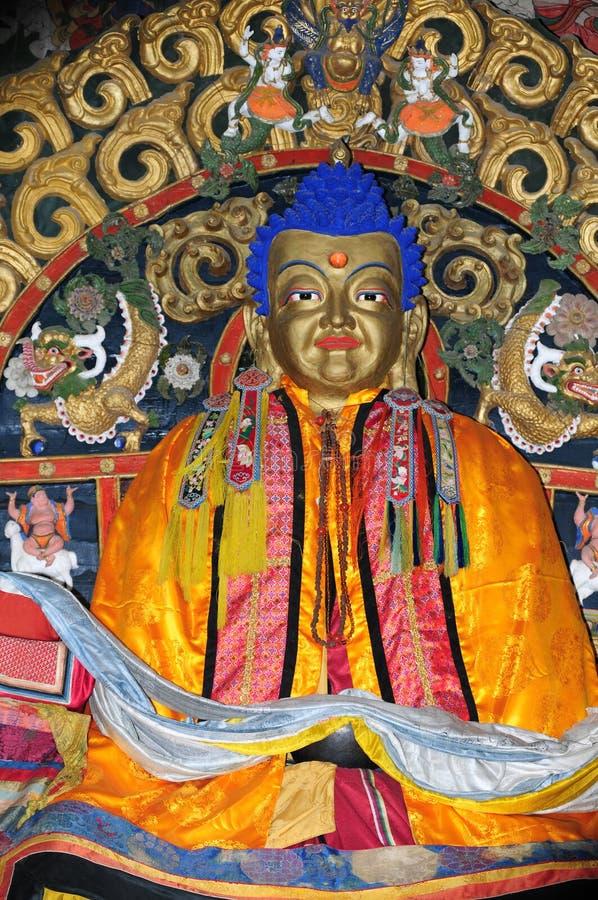 Het standbeeld van Boedha bij Klooster Erdenezuu in Mongolië royalty-vrije stock afbeelding