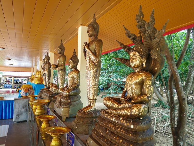Het standbeeld van Boedha in Thailand Boedha Boedha stock afbeeldingen