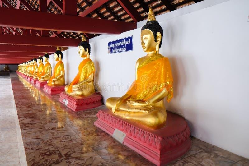 Het standbeeld van Boedha van Si Thammarat van Thailand Nakhon royalty-vrije stock afbeeldingen