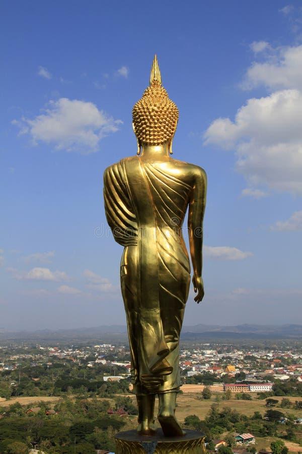 Het Standbeeld van Boedha voor voorraadfoto stock afbeelding