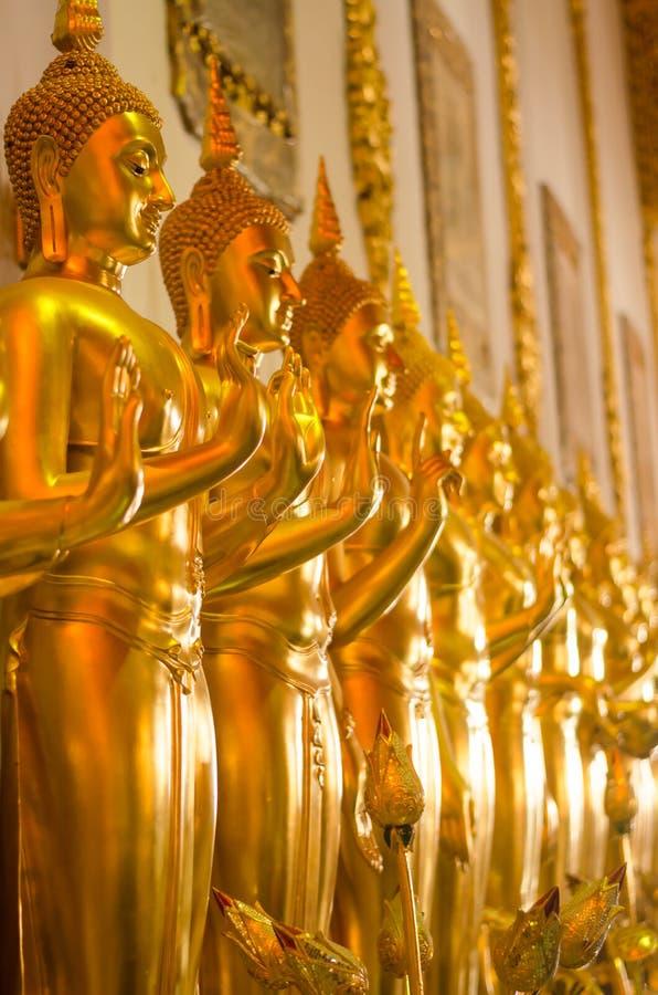 Het standbeeld van Boedha in Wat Ban Den royalty-vrije stock afbeelding