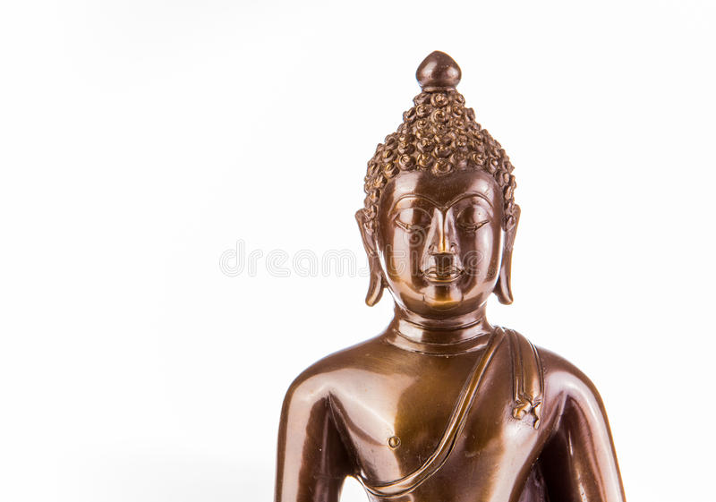 Het standbeeld van close-upboedha, chiangmai Thailand stock afbeelding