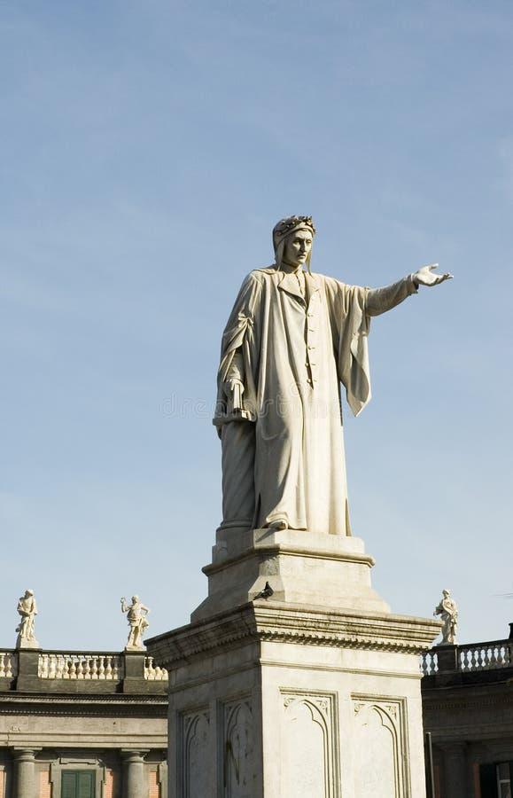 Het Standbeeld van Dante royalty-vrije stock afbeelding
