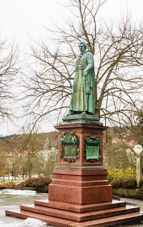 Het standbeeld van de abt Charles Kaspar Reitenberger royalty-vrije stock fotografie