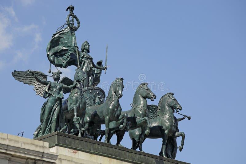 Het Standbeeld van de Burgeroorlog stock foto