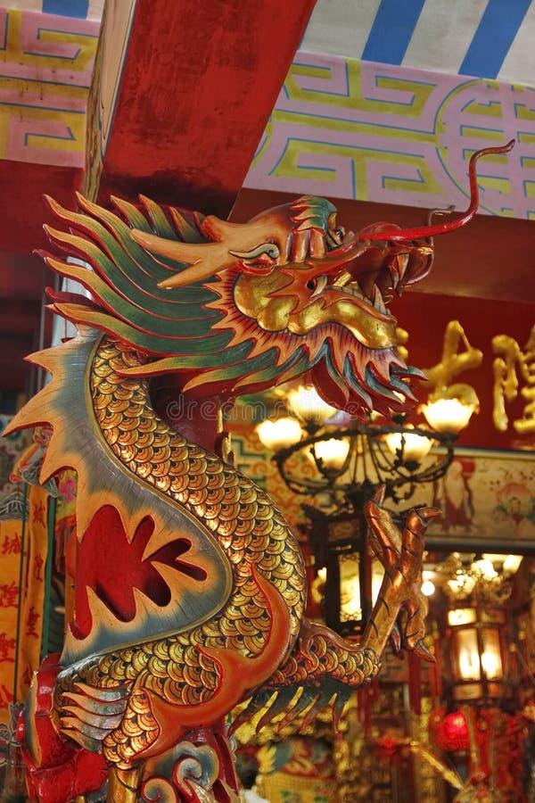 Het standbeeld van de draak royalty-vrije stock foto's