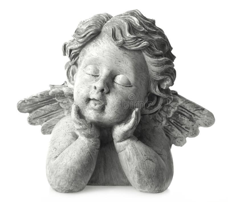 Het standbeeld van de engel royalty-vrije stock afbeelding
