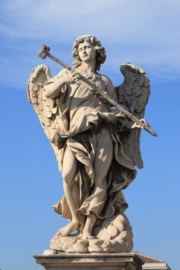Het standbeeld van de engel stock afbeelding