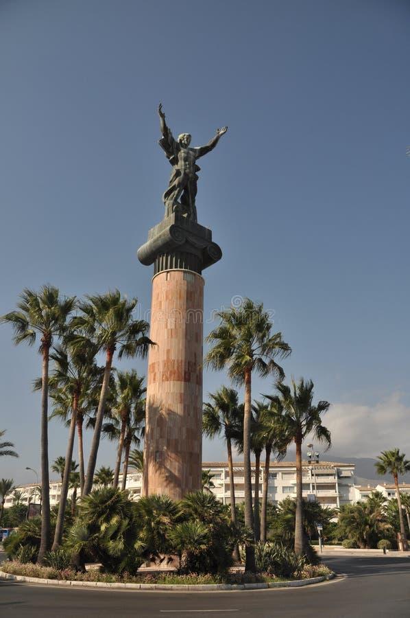 Het standbeeld van de overwinning royalty-vrije stock foto's