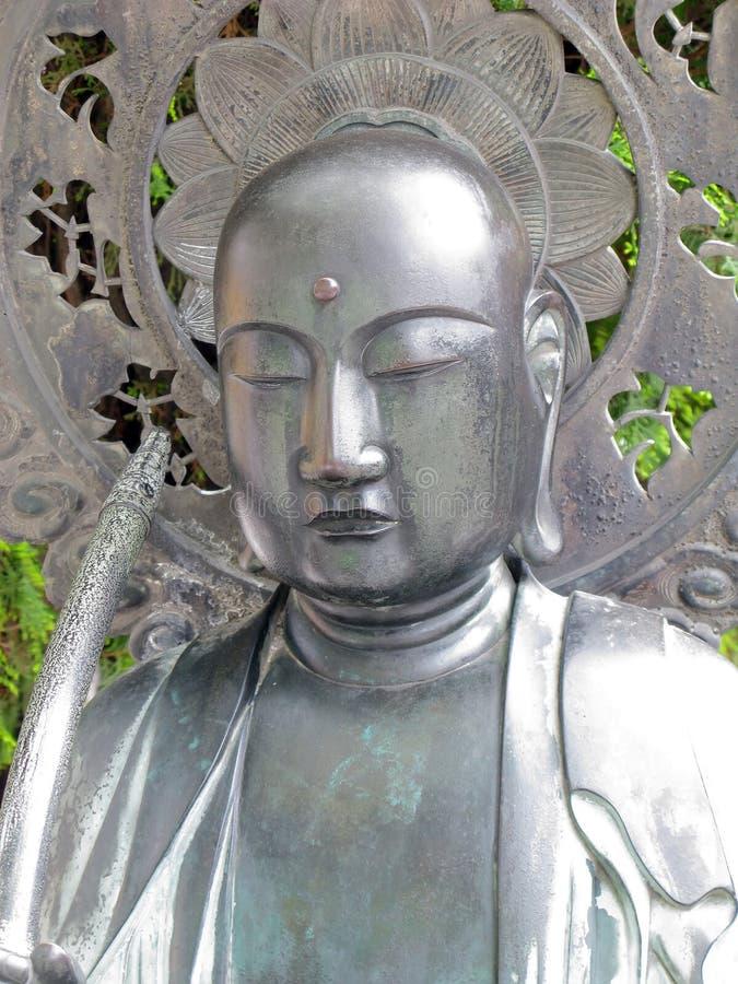 Het Standbeeld van de Tempel van Kannon van Asakusa royalty-vrije stock afbeelding
