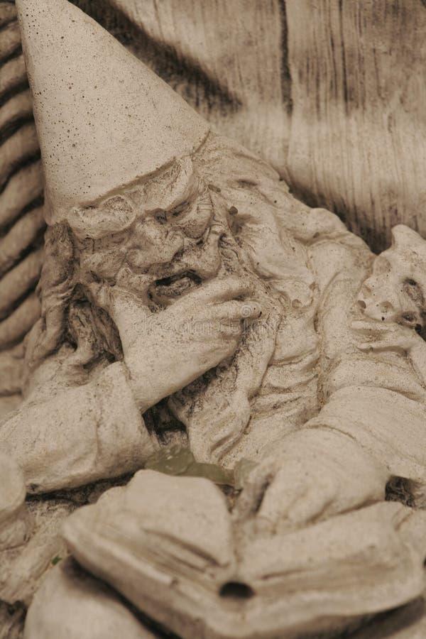 Het Standbeeld van de tovenaar royalty-vrije stock afbeelding