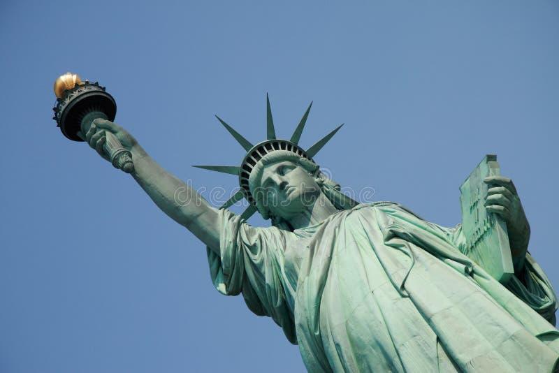 Het Standbeeld van de vrijheid, New York royalty-vrije stock afbeelding