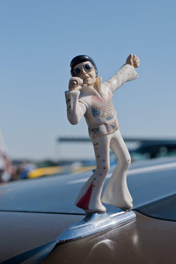 Het Standbeeld van Elvis stock fotografie