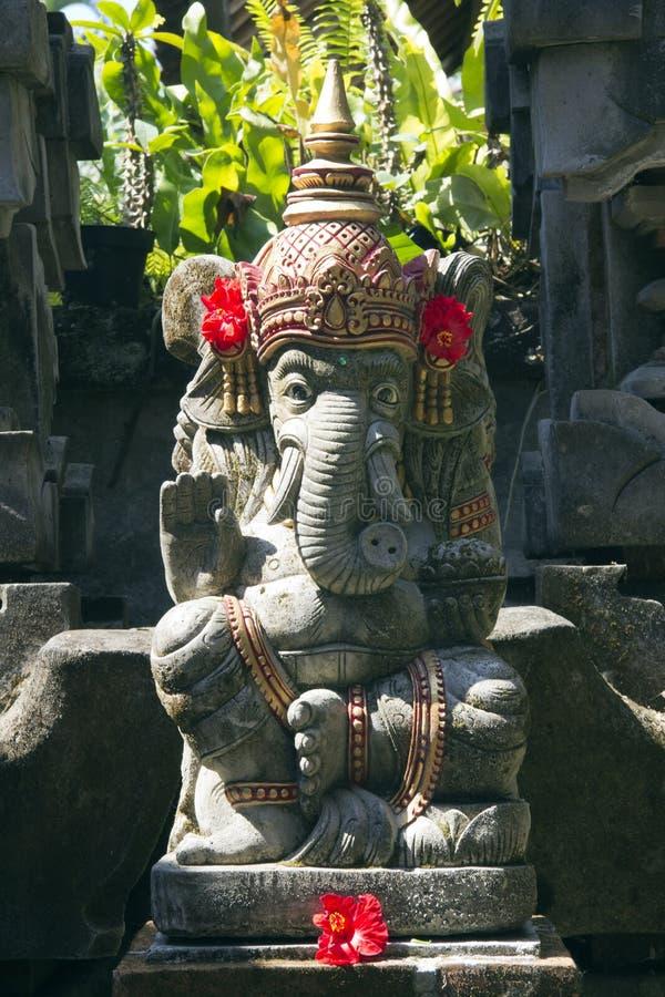 Het standbeeld van Ganesha, Bali royalty-vrije stock foto