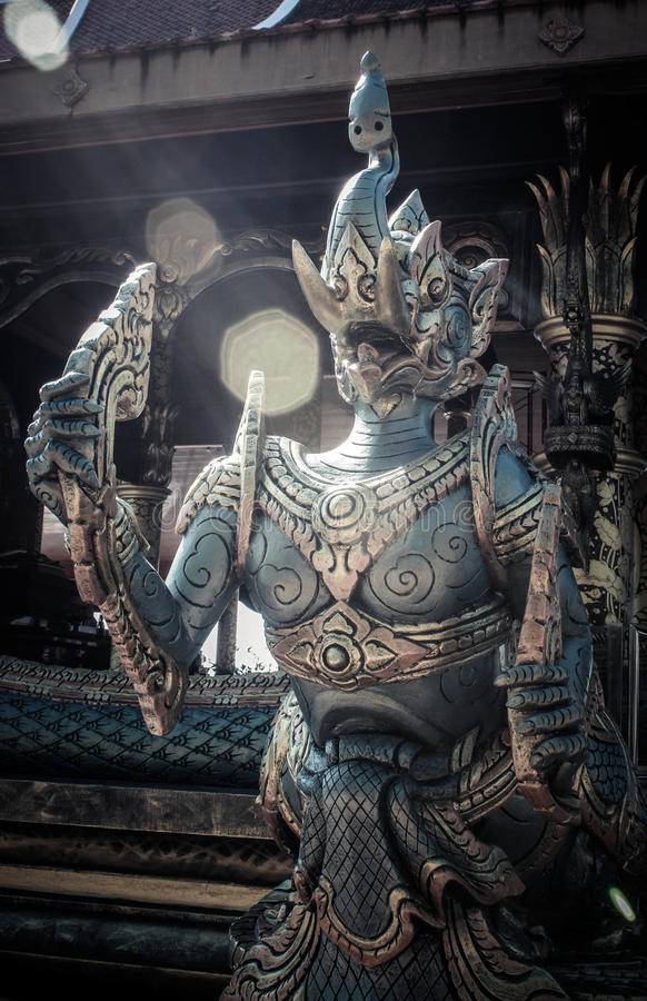 Het standbeeld van Garuda royalty-vrije stock afbeeldingen