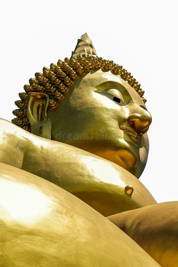 Het standbeeld van Golddenboedha stock afbeelding