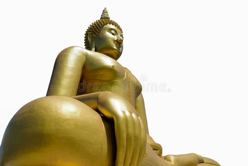 Het standbeeld van Golddenboedha stock fotografie