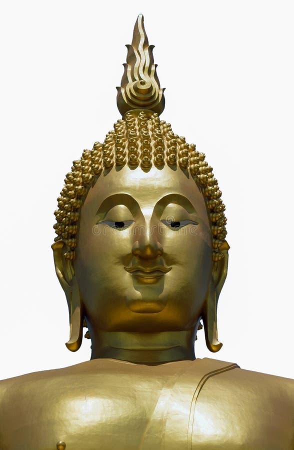 Het standbeeld van Golddenboedha royalty-vrije stock foto