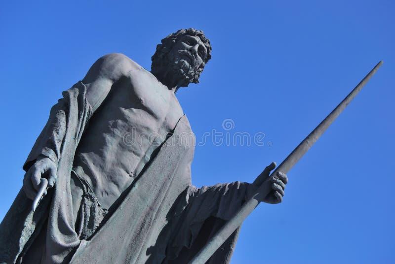 Het standbeeld van Guanches royalty-vrije stock fotografie