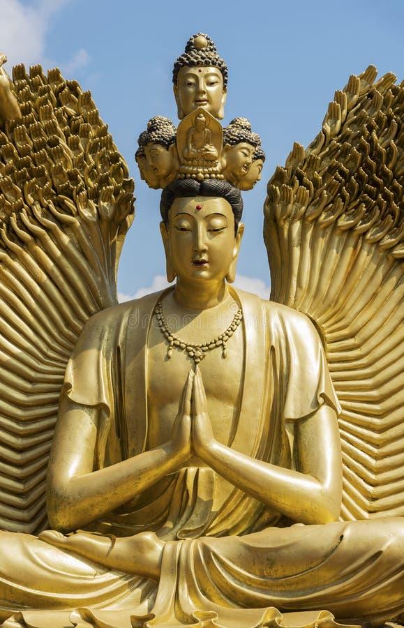 Het Standbeeld van Guanyinboedha royalty-vrije stock foto