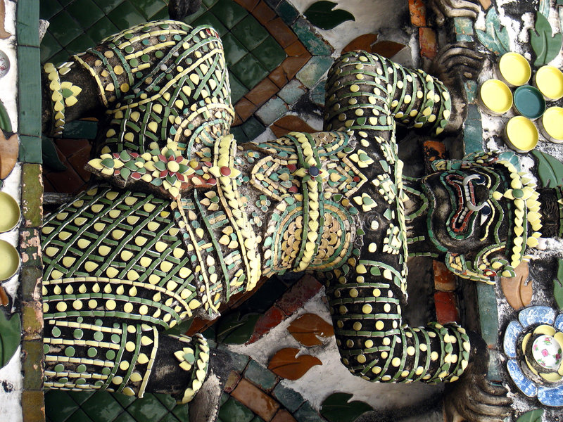Het standbeeld van het brons dat met aardewerk van kan worden gedaan royalty-vrije stock afbeeldingen