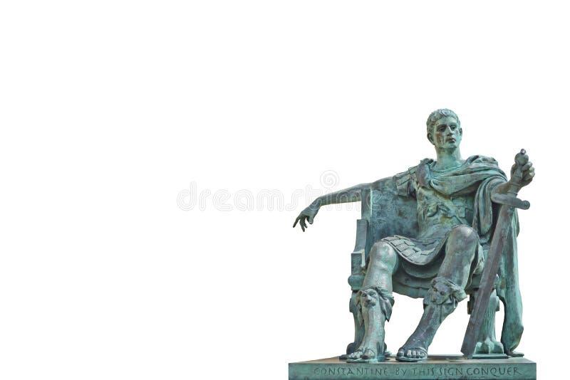 Het Standbeeld Van Het Brons Van Constantine Redactionele Stock Afbeelding