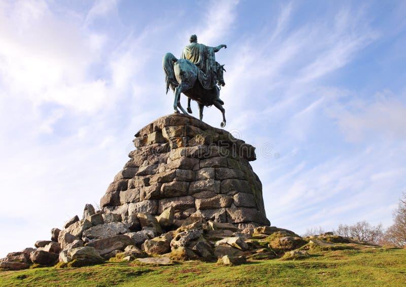 Het Standbeeld Van Het Paard Van Het Koper In Park Windsor Royalty vrije Stock Foto u0026#39;s