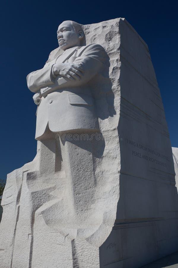 Het Standbeeld van Martin Luther King stock afbeeldingen
