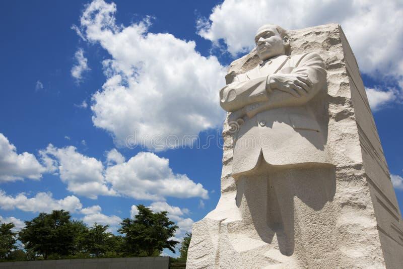 Het Standbeeld van Martin Luther King royalty-vrije stock foto
